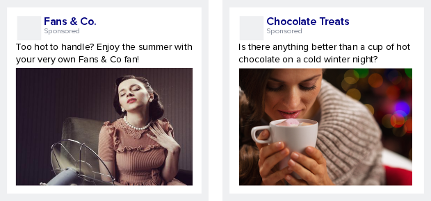 Advert examples